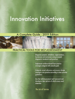 Innovation Initiatives A Complete Guide - 2019 Edition