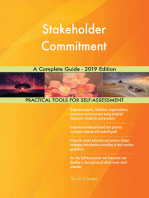 Stakeholder Commitment A Complete Guide - 2019 Edition