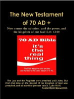 The New Testament of 70 AD +