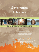 Governance Initiatives A Complete Guide - 2019 Edition