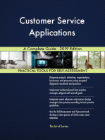 Customer Service Applications A Complete Guide - 2019 Edition