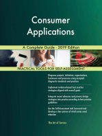 Consumer Applications A Complete Guide - 2019 Edition