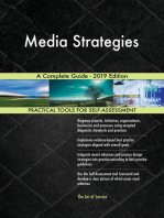 Media Strategies A Complete Guide - 2019 Edition