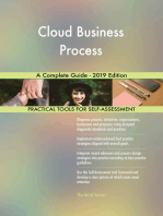 Cloud Business Process A Complete Guide - 2019 Edition