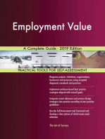 Employment Value A Complete Guide - 2019 Edition