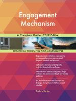 Engagement Mechanism A Complete Guide - 2019 Edition