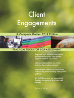 Client Engagements A Complete Guide - 2019 Edition