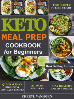 Keto Meal Prep Cookbook for Beginners