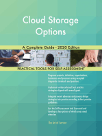Cloud Storage Options A Complete Guide - 2020 Edition