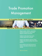 Trade Promotion Management A Complete Guide - 2020 Edition