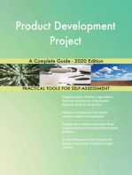 Product Development Project A Complete Guide - 2020 Edition