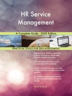 HR Service Management A Complete Guide - 2020 Edition