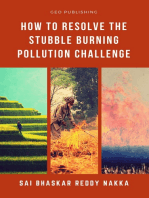 How to Resolve the Stubble Burning Pollution Challenge