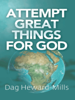 Attempt Great Things for God