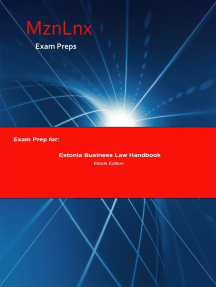 Exam Prep for:: Estonia Business Law Handbook