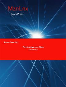 Exam Prep for:: Psychology as a Major