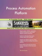 Process Automation Platform A Complete Guide - 2020 Edition