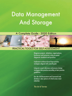 Data Management And Storage A Complete Guide - 2020 Edition