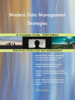 Modern Data Management Strategies A Complete Guide - 2020 Edition