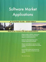 Software Market Applications A Complete Guide - 2020 Edition