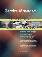Service Managers A Complete Guide - 2020 Edition