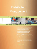 Distributed Management A Complete Guide - 2020 Edition