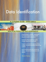 Data Identification A Complete Guide - 2020 Edition