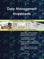 Data Management Investments A Complete Guide - 2020 Edition
