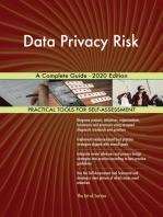 Data Privacy Risk A Complete Guide - 2020 Edition