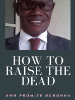 How To Raise The Dead