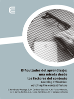 Dificultades del aprendizaje: una mirada desde los factores del contexto