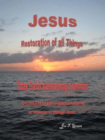 Jesus Restoration of all Things