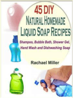 45 DIY Natural Homemade Liquid Soap Recipes