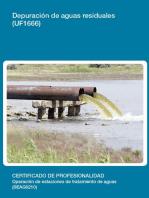 UF1666 - Depuración de aguas residuales
