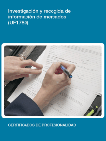 UF1780 - Investigación y recogida de información de mercados