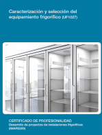 UF1027 - Caracterización y selección del equipamiento frigorifico