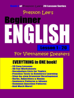 Preston Lee's Beginner English Lesson 1