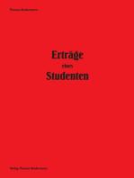 Erträge eines Studenten