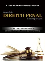 Manual de Direito Penal Contemporâneo: Volume I