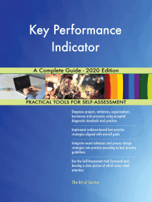 Key Performance Indicator A Complete Guide - 2020 Edition
