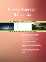 Privacy Approach Bottom Up A Complete Guide - 2020 Edition