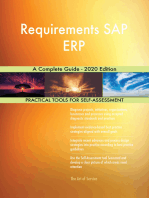 Requirements SAP ERP A Complete Guide - 2020 Edition