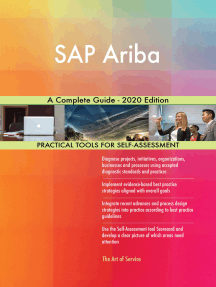 SAP Ariba A Complete Guide - 2020 Edition