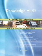 Knowledge Audit A Complete Guide - 2020 Edition