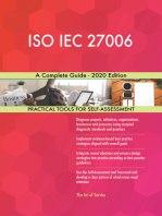 ISO IEC 27006 A Complete Guide - 2020 Edition