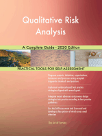 Qualitative Risk Analysis A Complete Guide - 2020 Edition