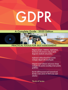 GDPR A Complete Guide - 2020 Edition