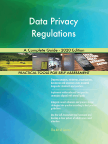 Data Privacy Regulations A Complete Guide - 2020 Edition