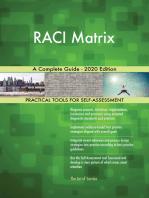 RACI Matrix A Complete Guide - 2020 Edition