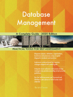 Database Management A Complete Guide - 2020 Edition